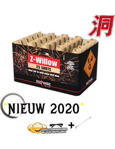 CAKE Z-WILLOW 25 SHOTS