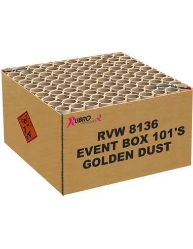 EVENT BOX GOLDEN DUST 101 SHOTS